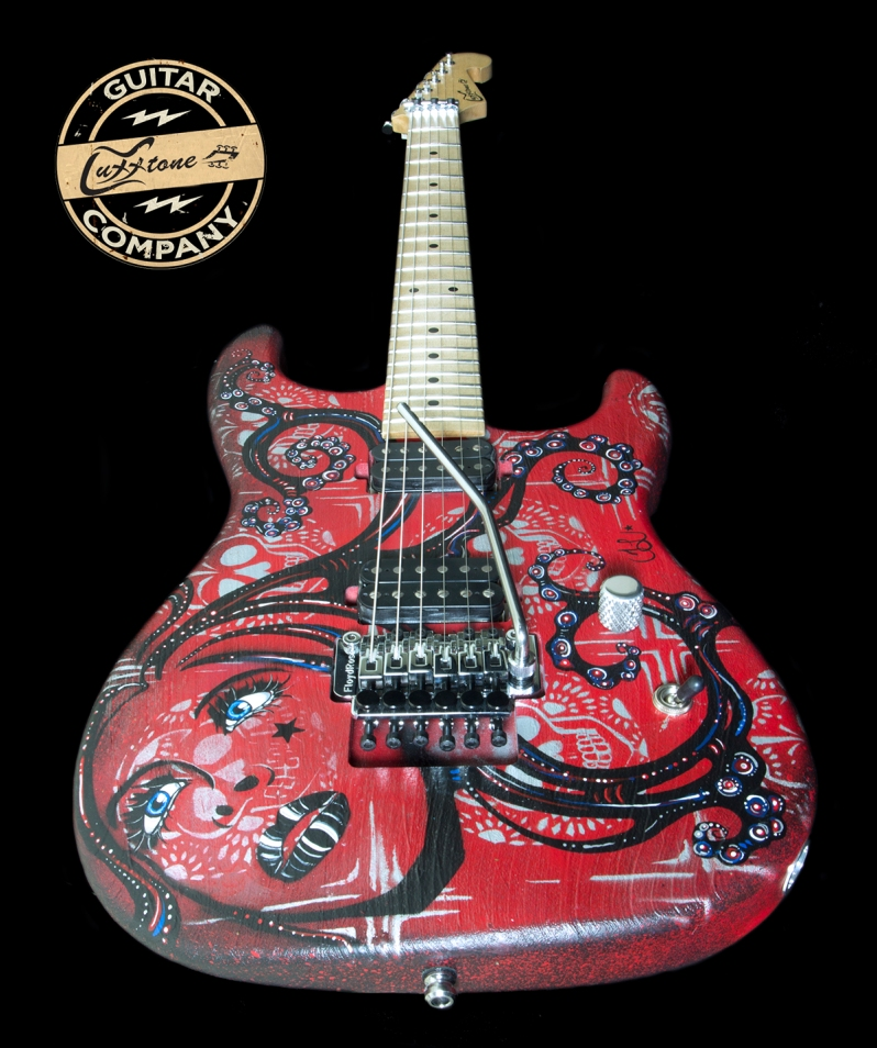 Trisha Lurie Guitar Art